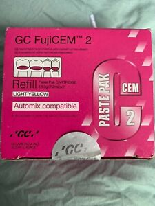 Gc Fujicem 2 Glass Ionomer Cement Refill Automix Compatible 2 Pack