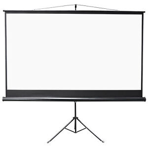 Hd Projection Projector Screen Hd Home Theater With Stand And Bag 100 16 9 4k