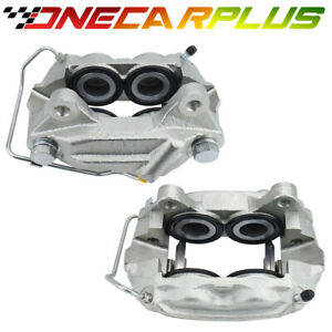 Onecarplus Front Set 2 Disc Brake Calipers For 1965 1967 Ford Lincoln Mercury