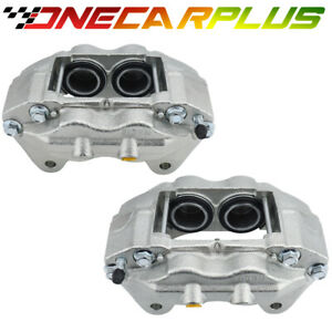 Onecarplus Set 2 Front Brake Calipers For 96 02 4runner W 16 Wheels Tacoma 4wd