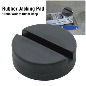 Trolley Rubber Jack Pad Pinch Weld Floor Jacking Lifting Puck Adapter Classic