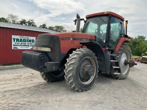 2001 Case Ih Mx270 4x4 270hp Farm Tractor W Cab Weights Duals Only 4500hrs