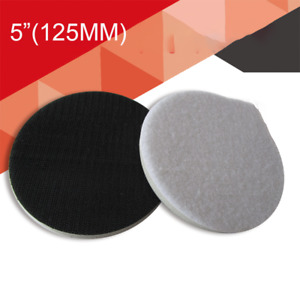 5125mm Cushion Interface Pad Soft Hook And Loop Sanding Disc Backing Pads