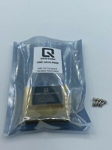Wr 15 Compact Variable Attenuator Gold Plated Waveguide 0 To 30db