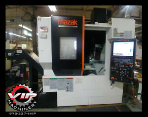 2016 Mazak Vcu 500a 5x 5 Axis Vmc With Probes Through Spindle Coolant And More