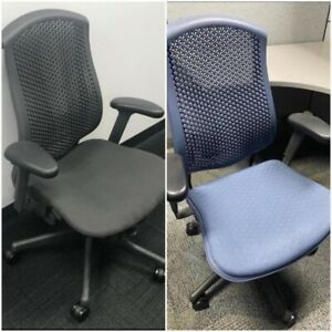 250 Herman Miller celle Task Computer Chairs sold 5 Per Pallet 350 Each