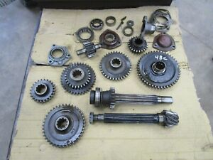 1948 Ih Farmall C Transmission Gears Shafts Parts Antique Tractor