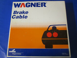 Parking Brake Cable Front Wagner F109067