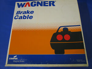 Parking Brake Cable Front Wagner F88762