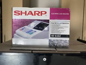 Sharp Xe a102 Electronic Cash Register Very Nice