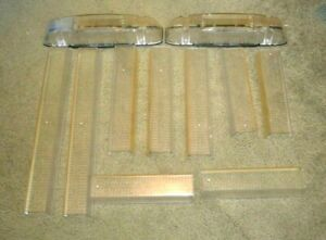 Used Lens Kit For Whelen Liberty Or Patriot Lfl Bars
