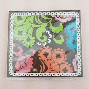 New Vera Bradley Forget Me Nots Sticky Notes Set Hard Cover