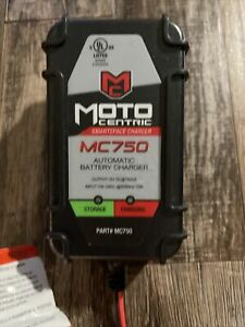 Motocentric Mc750 Motorcycle Car Atv Jet Ski Battery Charger Tender With Fuse