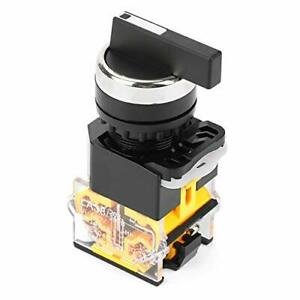 Momentary Rotary Switch Akozon 22mm 3 Position Auto Reset Selector Momentary