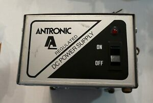 Antronic Ps 104 12v Dc Power Supply Vintage Test Equipment