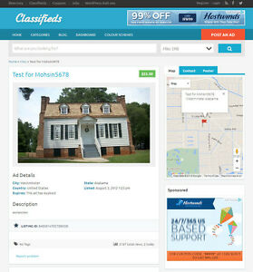 Classified Ads Website Mobile Friendly