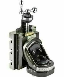 Lathe Vertical Milling Slide Swivel Base 4 X 5 With 63 Mm Grinding Vice