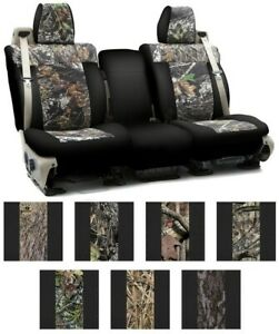 Coverking Mossy Oak Custom Seat Covers For Nissan Pathfinder