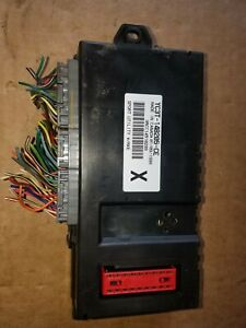 00 01 Ford F250 F350 Sd Gem Generic Electronic Multifunction Module
