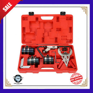 Piston Ring Service Tool Set Auto Engine Motor Cleaning Expander Compressor Kits