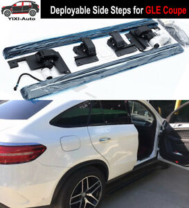 Deployable Electric Running Board Side Steps Fit For Mercede Gle Coupe 2020 2021