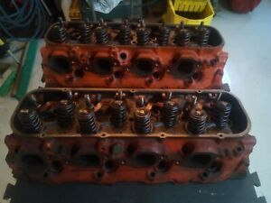 Bbc Big Block Chevy Heads 3964291 Rectangle Port Closed Chamber 396 427 454