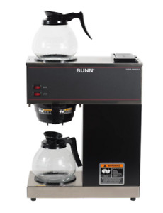 Coffee Maker With 2 Glass Carafes Bunn Vpr 12 cup Commercial Pour over Fresh