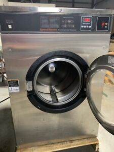 Speed Queen 50lb Washer Sc50vn 1 3 Phase 200 240 Volt Wire 2 3 Opl For Hotels