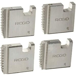 Ridgid 37835 Manual Threader Pipe Dies Right handed Alloy Npt Pipe Dies With