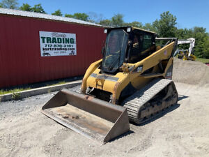 2006 Caterpillar 287b Compact Track Skid Steer Loader W Cab High Flow 2000hrs