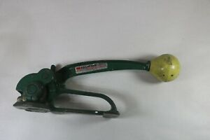 Vintage Signode Model St Tensioner Size 3 8 To 3 4 Strapping Tool Brass Body