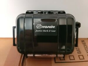 Nonin Justice Mark Ii Rugged Pulse Oximeter Carry Case With Foam