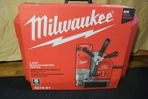 Milwaukee Battery Magnetic Drill Model 4272 21 Never Used