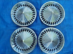 Ford Chevy Olds Buick Mopar Hot Rod Rat Rod Custom Low Rider 14 Spinner Hubcaps