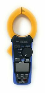 Hioki Cm4374 True rms Clamp Meter 1000vac 1500vdc 2000a With Frequency