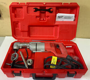 For Parts milwaukee 1107 1 Heavy Duty Corded 1 2 Reversing Right Angle Drill