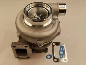 Gtx3576r Gt30 Gt35 Ball Bearing Billet Turbo Charger T3 A R 0 63 4 Bolt 60 Cold
