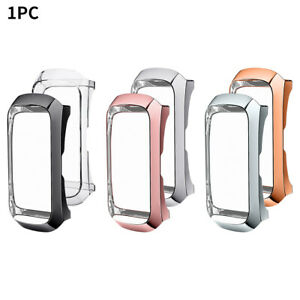 Plating Tpu Slim Non Slip Shockproof Frame Smart Watch Case For Galaxy Fit R370