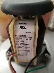 Fasco 70581513 Draft Inducer pool Heater Combustion Blower Motor
