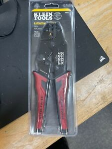 Klein Tools 3005cr Wire Crimper Tool Ratcheting Insulated Terminal Crimper For