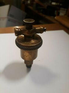 Lunkenheimer Marine No 00 T handle Automatic Brass Grease Cup Hit Miss Engine