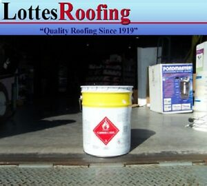 36 5 Gal Solvent Epdm And Tpo Rubber Roofing Glue Bonding Adhesive