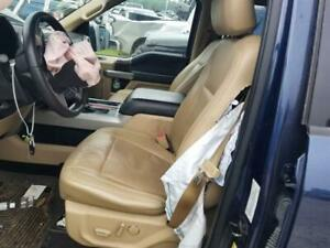 2015 16 17 Ford F150 Lariat Oem Driver Left Front Seat Assembly Tan Leather
