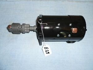 Early 1928 Nice Model A Ford Rebuilt Starter With Warranty E28