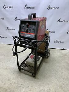 Lincoln Weld pak 100 Mig Welder And Cart P 9