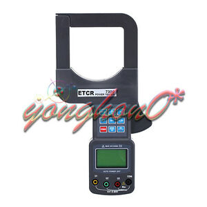 New Etcr7300 Large Caliber Three Phase Power Tester 0 00ma 1200a