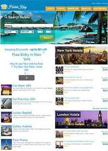 Fully Automated Hotel Flight Booking Website Make Money Online