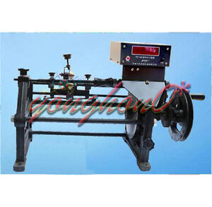 New Semi automatic Coil Winding Machine Hand Coil Winder W Electronic Counting