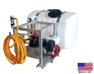 Sprayer Commercial Skid Mounted 9 5 Gpm 580 Psi 100 Gallon Tank