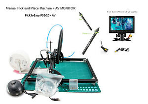 Smt Pick And Place Machine Picksoeasy Pse 20 With 2 Av Micr And 1 9 Tft